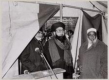 buitenlandse bazen van taibah moskee