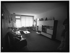 interieur woonkamer 1969