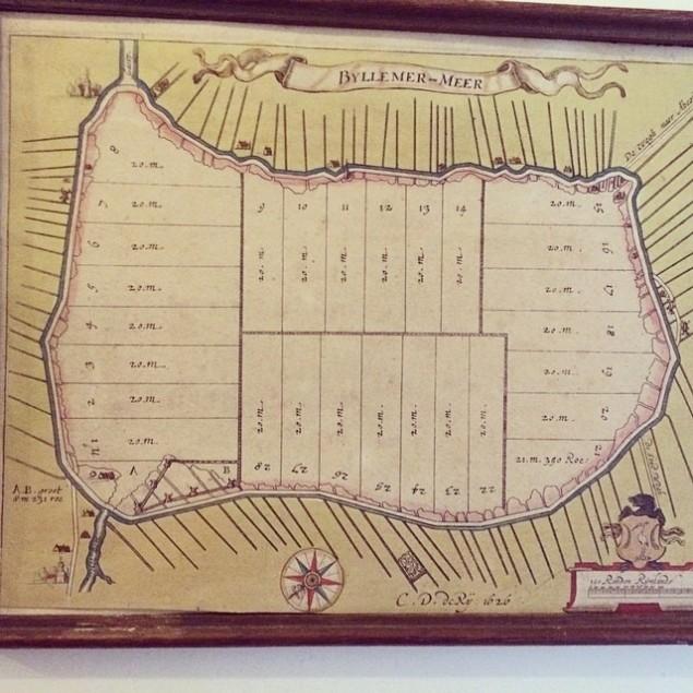 kaart bijlmer 1626