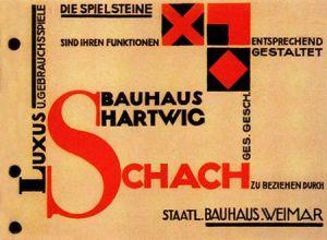 Bauhaus, boekomslag door Herbert Bayer