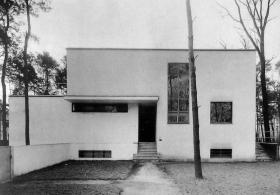 Bauhaus, Dessau, arc Walter Gropius