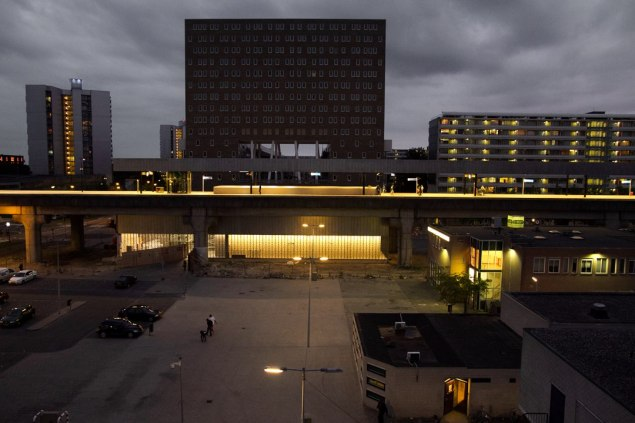 Kraaiennest by night, foto Sara Mattens